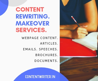 Content Rewriting Services India