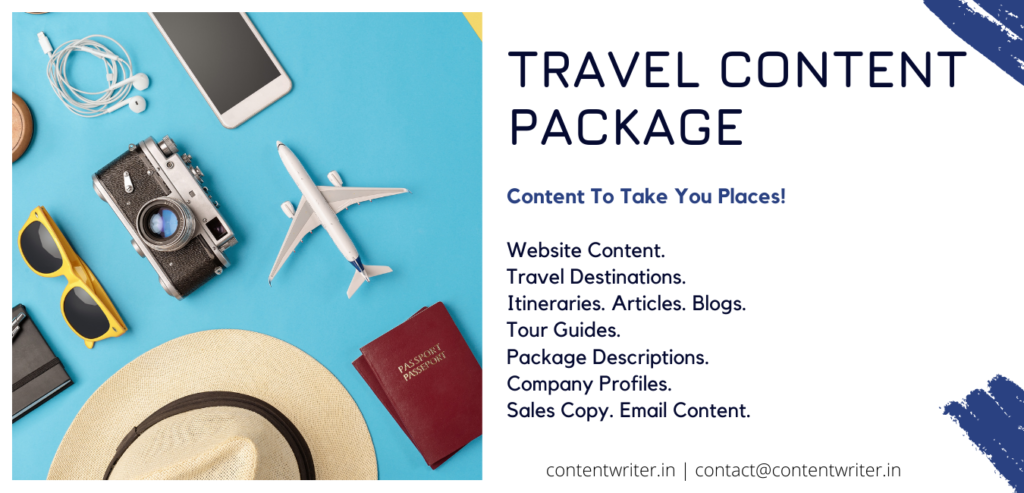 Travel Writing Packages